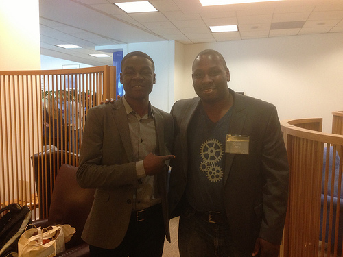 William Senyo and Jon Gosier